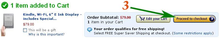 Как сделать заказ на Amazon