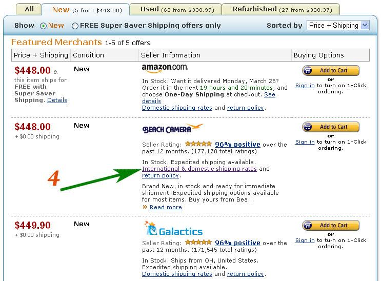 Как делать покупки на Amazon