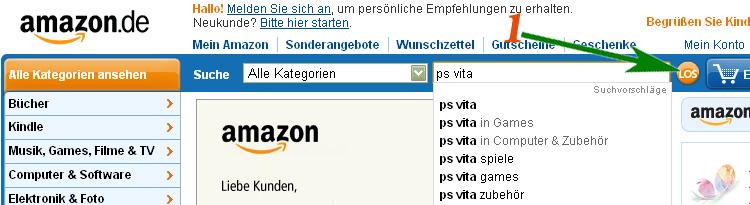Как заказывать с Amazon.de