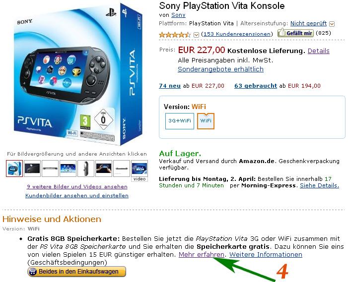 Специальное предложение Amazon.de